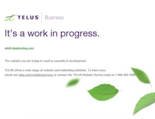 shell.telushosting.com screenshot