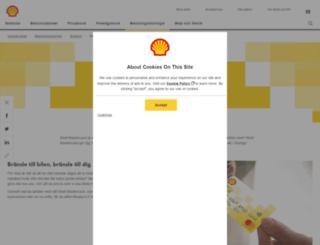 shellmastercard.se screenshot
