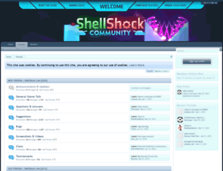 shellshockliveforums.com screenshot
