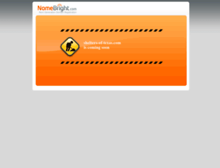 shelters-of-texas.com screenshot