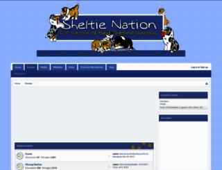 sheltieforums.com screenshot