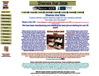 shelvesthatslide.com screenshot
