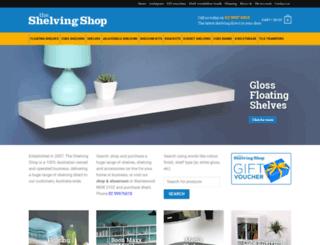 shelvingshop.com.au screenshot