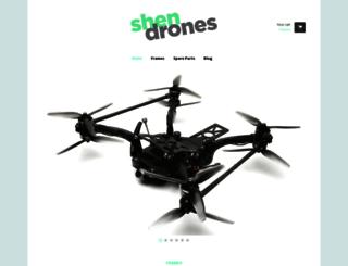 shendrones.myshopify.com screenshot