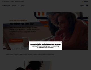 shentel.net screenshot