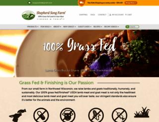 shepherdsongfarm.com screenshot