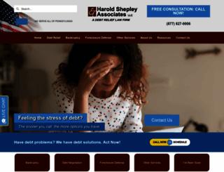 shepleylaw.com screenshot