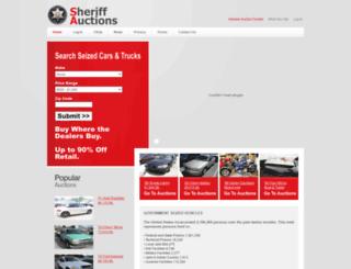 sheriff-auctions.org screenshot