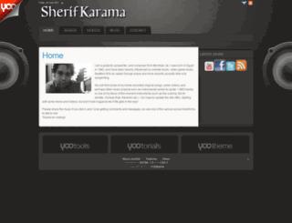 sherifkarama.com screenshot