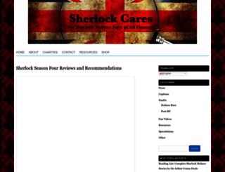 sherlockcares.com screenshot