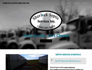 sherlockseptic.com screenshot