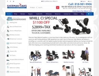 shermanoaksmedical.com screenshot
