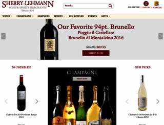 sherry-lehmann.com screenshot