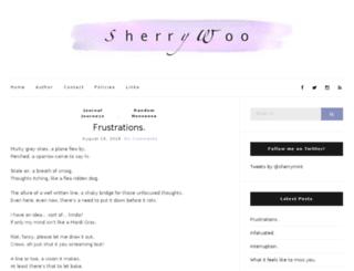 sherrywoo.com screenshot