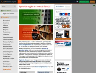 shertonenglish.com screenshot