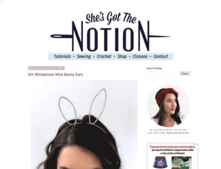 shesgotthenotion.com screenshot