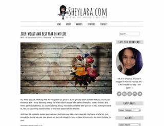 sheylara.com screenshot