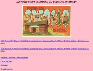 shiawasseehistory.com screenshot