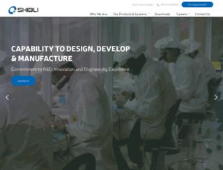 shiblielectronics.com screenshot