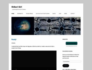 shiborigirl.wordpress.com screenshot