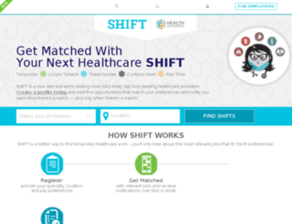 shift-staging.spiremedia.com screenshot