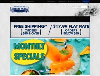 shilohfarms.com screenshot