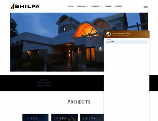 shilpa.com screenshot