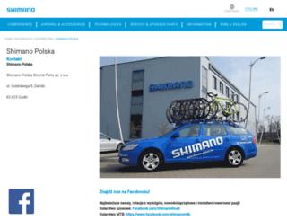 shimano-polska.com screenshot