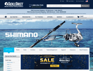 shimano.fishing-store.us screenshot