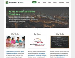 shimshockgroup.com screenshot