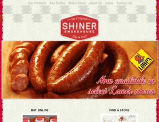 shinersmoke.wpengine.com screenshot