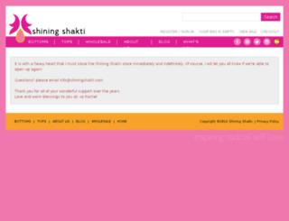 shiningshakti.com screenshot