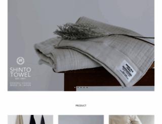shinto-towel.com screenshot