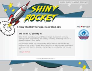 shinyrocket.com screenshot
