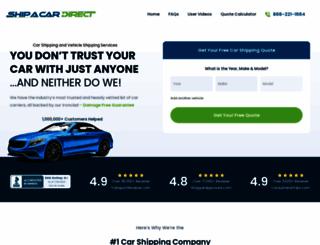 shipacardirect.com screenshot