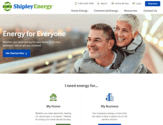 shipleyenergy.com screenshot