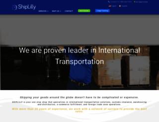 shiplilly.com screenshot