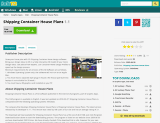 shipping-container-house-plans.soft112.com screenshot