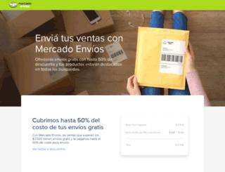shipping-frontend.mercadolibre.com.ar screenshot