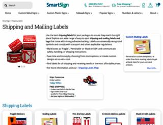 shippinglabels.com screenshot