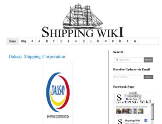 shippingwiki.net screenshot