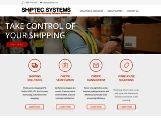 shiptec.com screenshot
