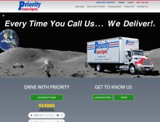 shipwithpriority.com screenshot