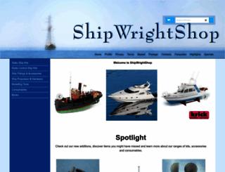 shipwrightshop.com screenshot