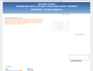 shirdi-sai-baba.com screenshot