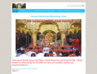 shirdi-tour-package.webnode.com screenshot