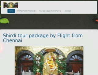 shirdisaidhamdarshan.jimdo.com screenshot