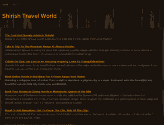shirishtravelworld.webs.com screenshot