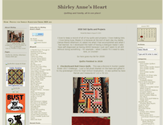 shirleyannesheart.com screenshot