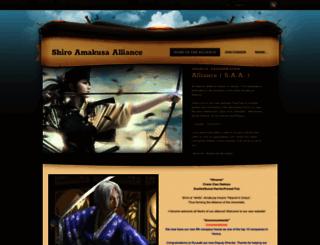 shiroamakusaalliance.weebly.com screenshot